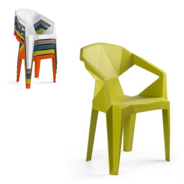 0c38ce4dc21f odolná plastová stolička Transformer